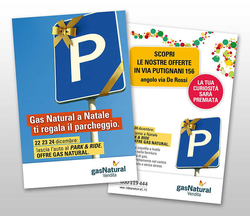 Gas Natural Vendita / Park and Ride / Cartolina