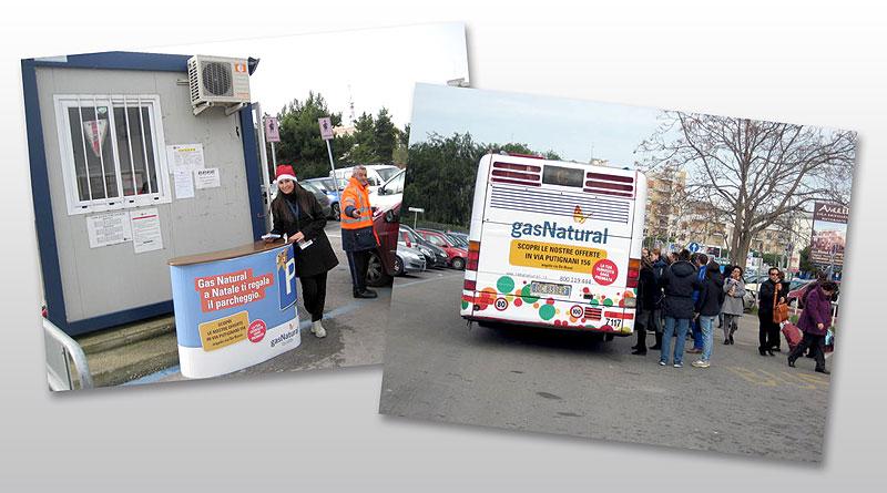Gas Natural Vendita / Park and Ride / Desk e Autobus